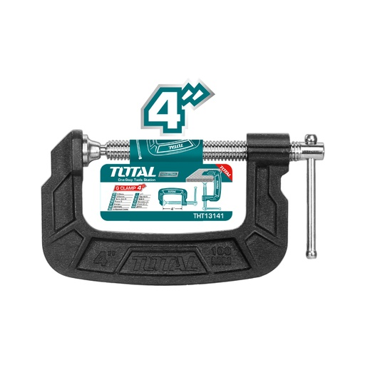 "[THT13141] G Clamp 4"" Industrial"