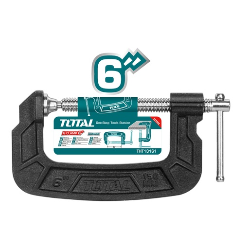 "[THT13161] G Clamp 6"" Industrial"