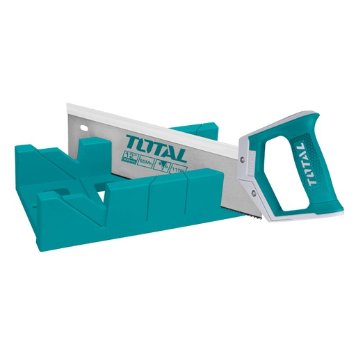 [THT59126] Mitre Box And Back Saw Set