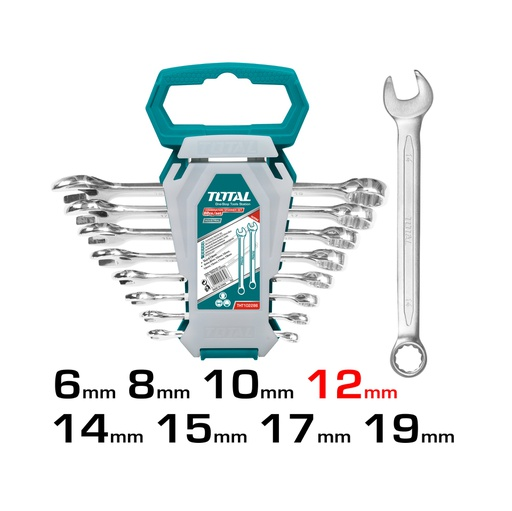 [THT102286] Combination Spanner Set 8Pcs Industrial